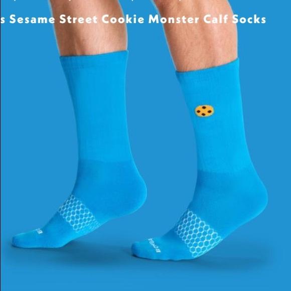 f96b764c3c33e Bombas Accessories   Sesame Street Cookie Monster Calf Socks   Poshmark